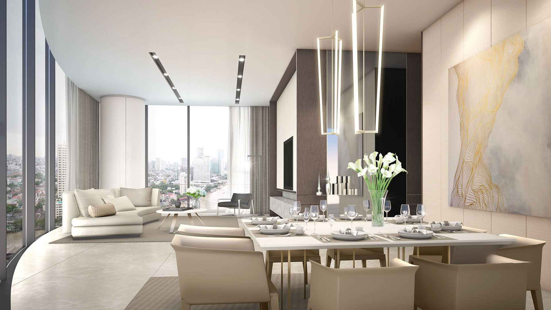 Banyan Tree Residences Riverside Bangkok Interior 1