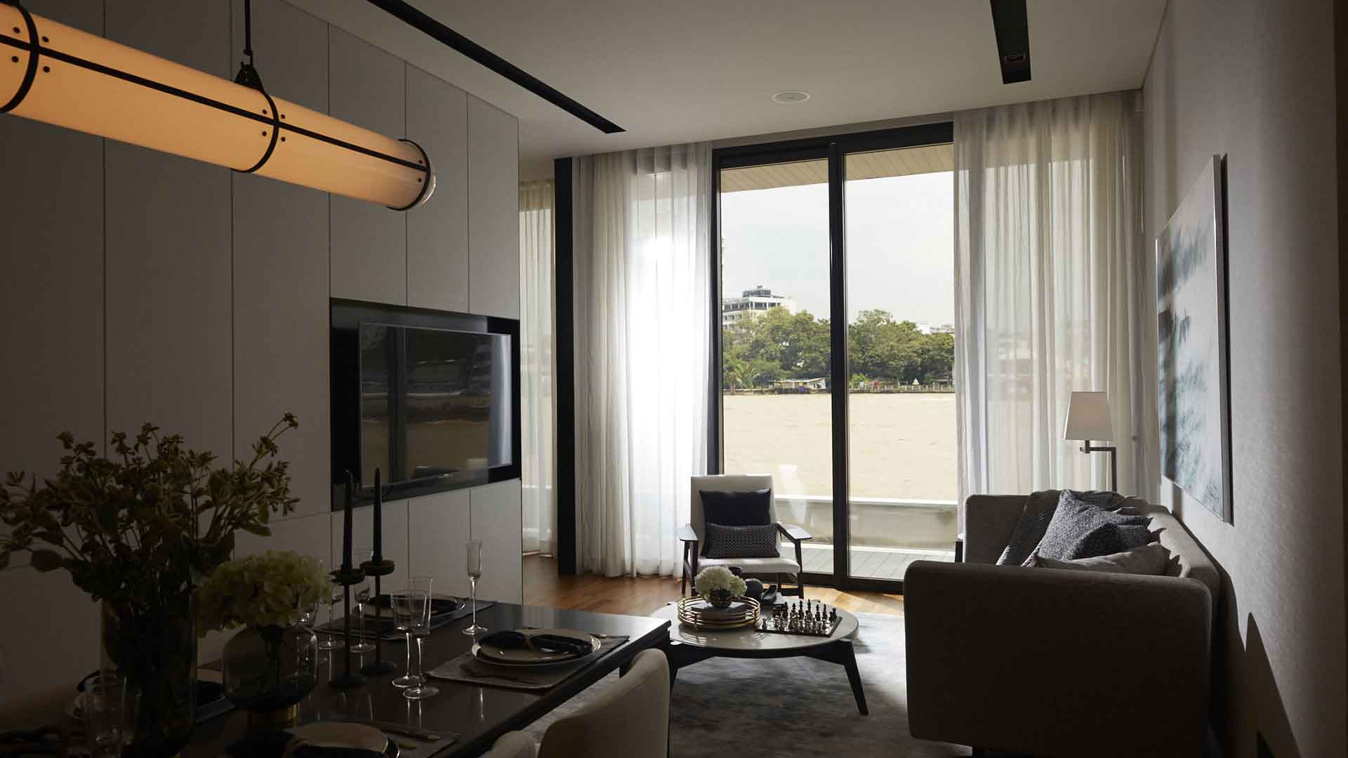 Banyan Tree Residences Riverside Bangkok Interior 17
